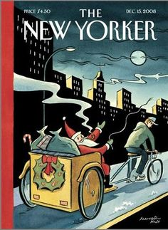 35 Stunning Holiday-Themed Magazine Covers from the Days of Yore:  The New Yorker, December 15, 2008