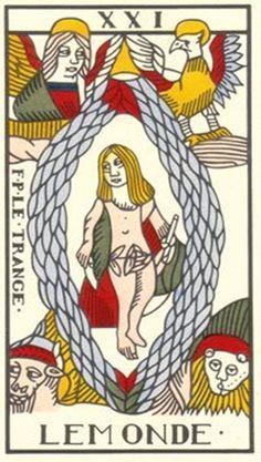 Tarot de Marsella, versión de Jean Dodal restaurada por  Jean-Claude Flornoy.