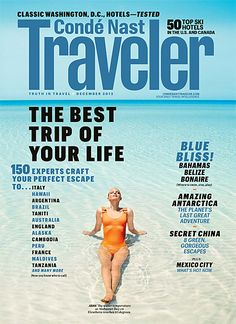 2) My copy of Conde Nast Traveler - My guide to outlining all there is to see & do in NY and worldwide. #travelcompanion