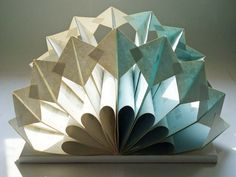 Altered Book Folded Paper Sculpture by yinsteadofi on Etsy, $55.00