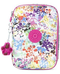 Kipling Handbag, 100 Pens Printed Case - Handbags & Accessories - Macy's