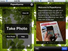 Stop Getting Junk Mail - Just Snap a photo of Junk Mail & the PaperKarma iPhone app does the rest