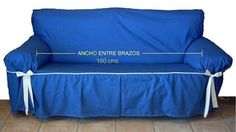 Cómo hacer fundas para un sillón Furniture Covers, Furniture Makeover, Diy Furniture, Diy Sofa Cover, Couch Covers, Diy Couch, Diy Chair, Plastic Chair Covers, Shabby Home
