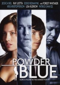 Powder Blue on DVD from Image Ent. Directed by Timothy Linh Bui. Staring Eddie Redmayne, Jessica Biel, Kris Kristofferson and Lisa Kudrow. More Drama, Thrillers and Erotica DVDs available @ DVD Empire. Jessica Biel, Eddie Redmayne, Biel Biel, Chandler Canterbury, Minnesota, Ray Liotta, Forest Whitaker, Image Film, Kris Kristofferson