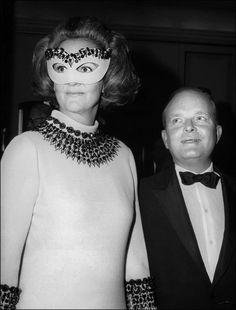 Katharine Graham con Truman Capote al Black & White Ball
