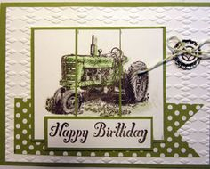 Crafty Maria's Stamping World: Harvest Blessing Birthday - Create with Connie & Mary#233