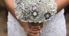 How to Make a Beautiful Brooch Bouquet Brooch Bouquet Tutorial, Wedding Brooch Bouquets, Bride Bouquets, Bridal Bouquet Blue, Rose Wedding Bouquet, Floral Wedding, Prom Flowers, Wedding Flowers, Wedding Dresses