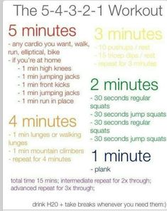 Looks really good!! And easy to get motivated 5, 4, 3, 2, 1! Like it! :)                                                                                                                                                                                 More