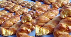 Greek Desserts, Pretzel Bites, Biscuits, Sausage, Deserts, Food And Drink, Ice Cream, Sweets, Bread