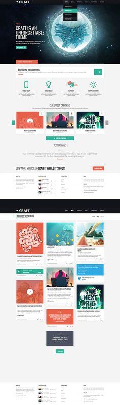 Web Design Inspiration #flat