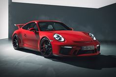 Porsche's commitment to making road-legal track cars continues with the 2018 Porsche 911 GT3. Under the bonnet sits a naturally aspirated 4.0L flat-six based on the one used in all 911 race cars. It produces 500 hp, enough to propel...