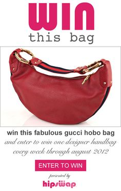 Would love to win this very stylish purse.