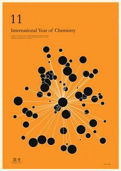 Simon C Page poster for the 2011 International Year of Chemistry, one of several at http://veerle.duoh.com/design/article/international_year_of_chemistry_2011