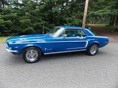 Ford : Mustang Base Hardtop 2-Door 1968 Ford Musta - http://www.legendaryfinds.com/ford-mustang-base-hardtop-2-door-1968-ford-musta/