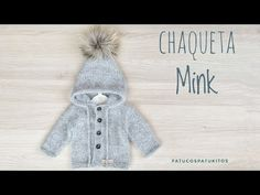 Tejemos chaqueta MINK con capucha - YouTube