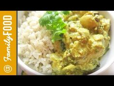 Sweet Coconut Curry | Clean Eating FAMILY RECIPES from Jules Furness on Channel Mum - YouTube | The girl behind the camera #food #healthy