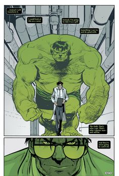 If you know me...you know I'm just like bruce banner, just need some radiation gamma ray poisoning now...