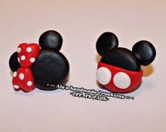 Orecchini in Fimo 'Mouse'