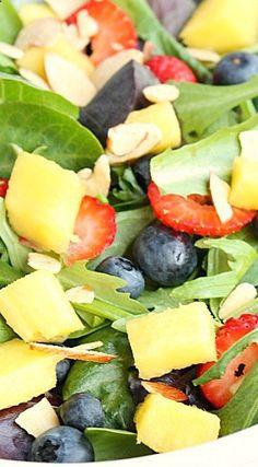 Mangoberry Salad