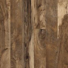 Hampton Bay Maple Grove Natural 12 mm Thick x 6-3/16 in. Wide x 50-1/2 in. Length Laminate Flooring (17.40 sq. ft. / case)-195146 at The Home Depot