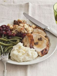Butter-roasted turkey with giblet pan gravy is one of the best ways to ...