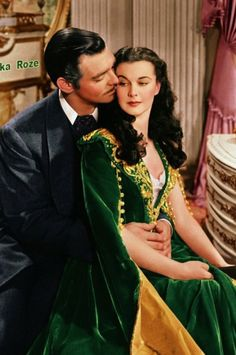Clark Gable, Vivien Leigh - Gone with the Wind (Victor Fleming, 1939)
