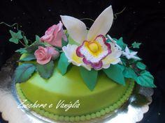 torta ramo fiori