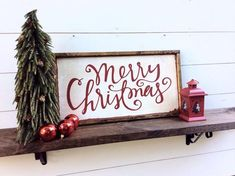 Merry Christmas Sign Rustic Christmas Sign Merry Christmas Wood Sign ON SALE this week only Merry Christmas Sign, Christmas Wall Art, Christmas Signs Wood, Holiday Signs, Rustic Christmas, Christmas Projects, Holiday Crafts, Christmas Holidays, Christmas Decorations