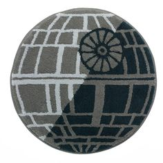 Star Wars Home Death Star Bath Rug