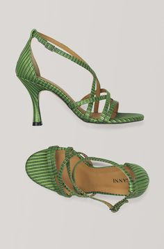 Wilma Pumps, Classic Green