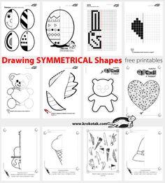 Drawing SYMMETRICAL Shapes