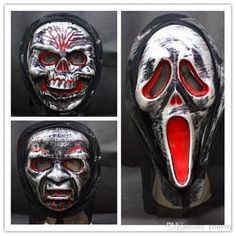 Best Quality 2014 Halloween Masquerade Masks Skull Face Masks Scary Horror Devil Ghost Horrible Prank Masks Costume Party Masks For Adults & Kids Hm82 At Cheap Price, Online Party Masks | Dhgate.Com