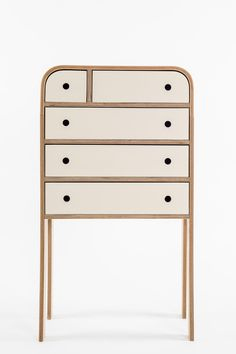 Minimalist Chest of Drawers - Lozi Cabinet Furniture, Plywood Furniture, Unique Furniture, Contemporary Furniture, Home Furniture, Furniture Design, Funky Furniture, Furniture Storage, Chair Design
