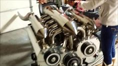 12-Rotor Wankel Engine Will Melt Your Brain! Seriously, 12 Rotors In One Engine