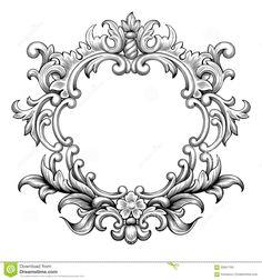 baroque-frame-engraving-scroll
