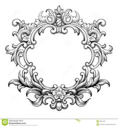 baroque-frame-engraving-scroll