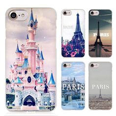 France Paris Clear Cell Phone Case Cover for Apple iPhone 4 4s 5 5s SE 5c 6 6s 7 Plus //Price: $7.91 & FREE Shipping // #hashtag3