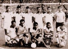 1967 1968 Adolfo, Fernandes, Jaime Graça, Jacinto, Cruz e José Henrique. José Augusto, Torres, Eusébio, Coluna e Simões.
