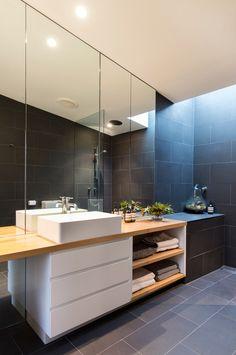 Herringbone Black & White and Jacquard Towels
