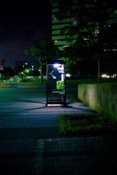 Phone booth,Japan