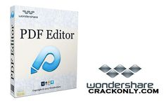 WonderShare PDF Editor Full Crack & Serial Key Download