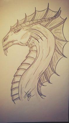 Dragon des mers / Dragon of seas design by Latruffe