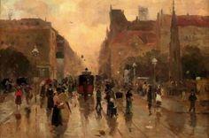 City Fragment, Aleksander Gierymski, 1888-1889