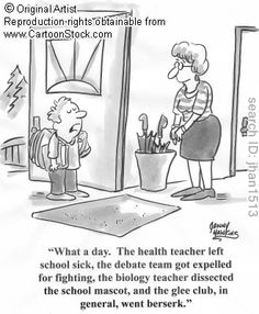 I'm kind of surprised that didn't happen to our debate team last year. ;)