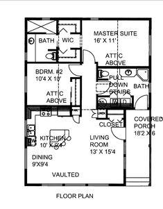 House Plan chp-50213 at COOLhouseplans.com