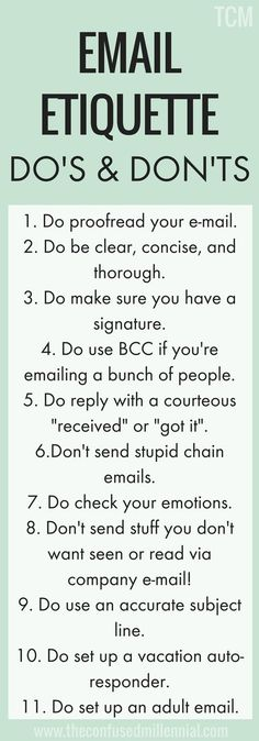 Do's & Don'ts Of Email Etiquette – Work meeting Business Writing, Business Tips, Business Motivation, Business Quotes, Creative Business, Writing Skills, Writing Tips, Etiquette And Manners, Effective Communication