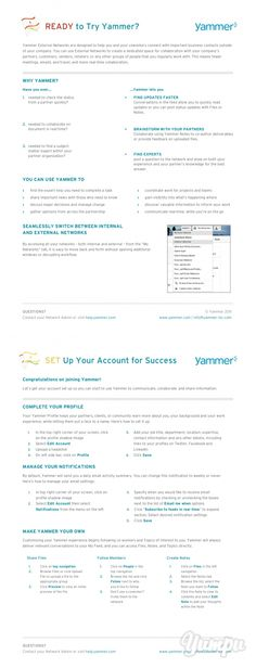 READY to Try Yammer? - Yammer Success Center - Magazine with 3 pages: READY to Try Yammer? - Yammer Success Center