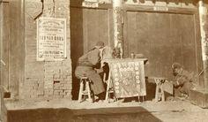 НовостиУличный предсказатель... Китай, Харбин. 1900 год.