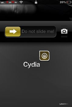 GrabberApp Cydia App–Slide Upward To Launch Any App From iPhone, iPad Or iPod Touch Lock Screen