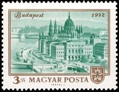 1972 Hungary Anniversary of the Unification of Obuda, Buda and Pest Stamps 1972 Hungary Anniversary of the Unification of Obuda, Buda and Pest Budapest Hungary, Ms Gs, Postage Stamps, Architecture, Hungary, Stamps, Arquitetura, Architecture Illustrations, Architecture Design